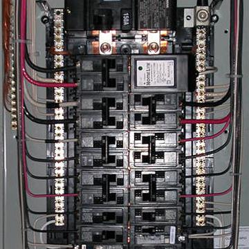 Inexpensive House Electrical Panel Installation - Seaman, Ohio - CJW ...